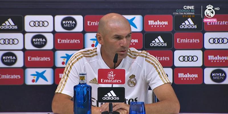 VÍDEO | Rueda de prensa de Zinedine Zidane previa al partido ante el Zaragoza