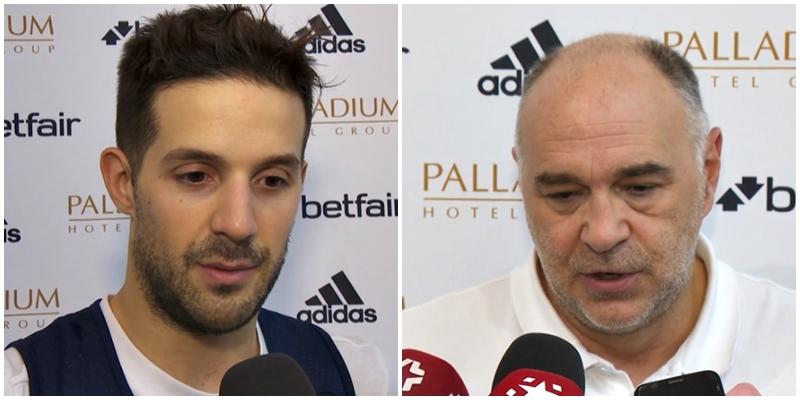 VÍDEO | Declaraciones de Pablo Laso y Nicolas Laprovittola en la previa del partido ante el Joventut