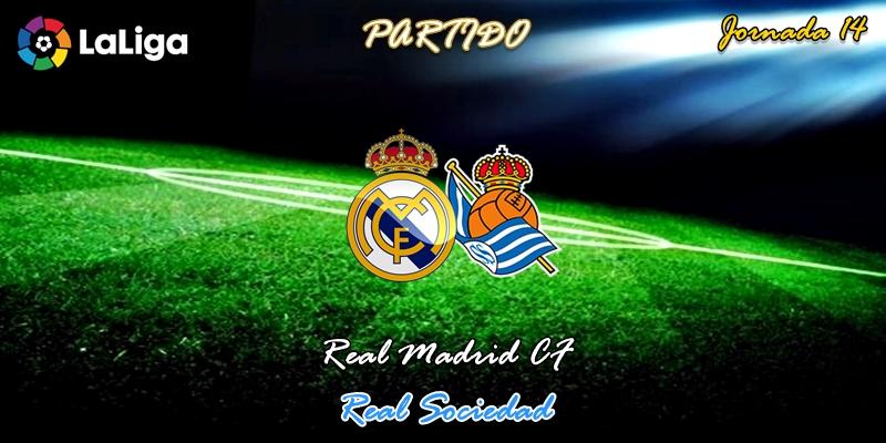 VÍDEO | Partido | Real Madrid vs Real Sociedad | LaLiga | Jornada 14