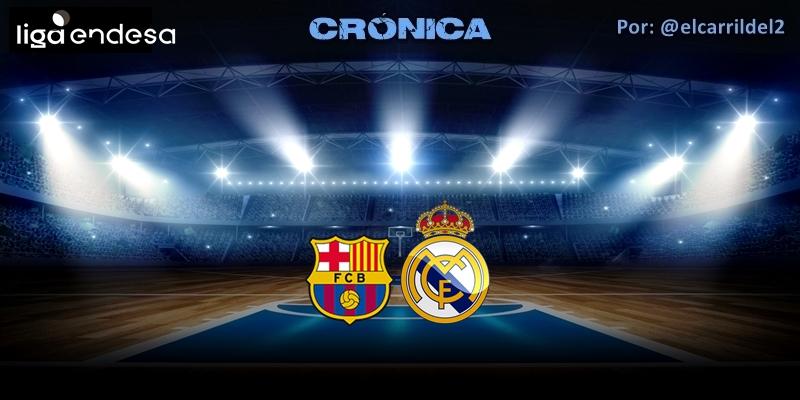 CRÓNICA   Petardazo en el Palau: FC Barcelona 83 – 63 Real Madrid