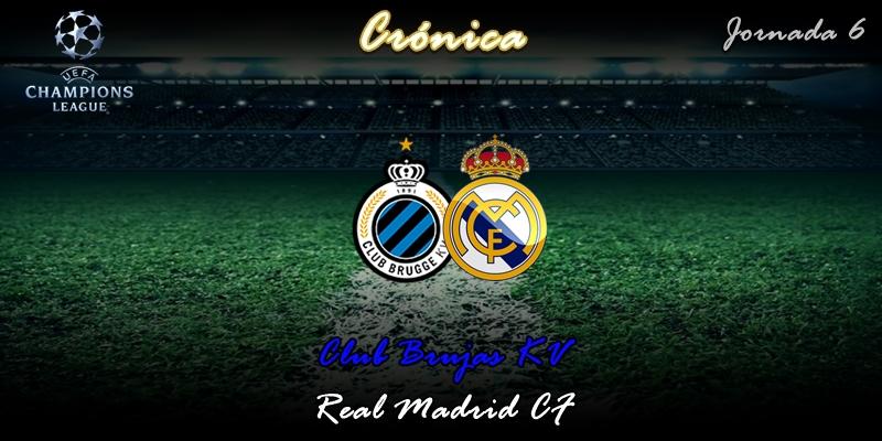 CRÓNICA | Vinicius y Rodrygo solucionan el trámite: Brujas 1 – 3 Real Madrid