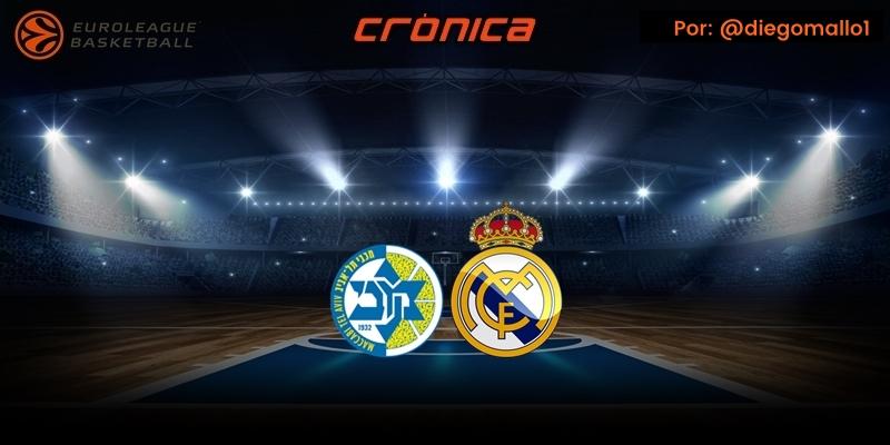 CRÓNICA   Golpe de autoridad en Israel: Maccabi Tel Aviv 77 – 81 Real Madrid