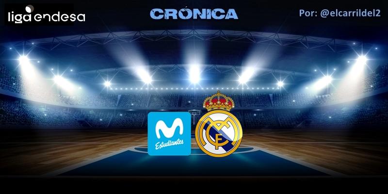 CRÓNICA   El derby solo tuvo un color: Movistar Estudiantes 72 – 87 Real Madrid