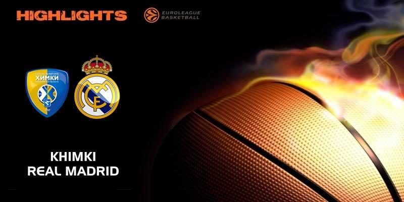VÍDEO | Highlights | Khimki vs Real Madrid | Euroleague | Jornada 20