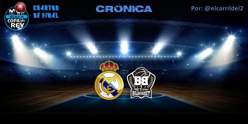 CRÓNICA   Aparece Llull: Real Madrid 93 – 83 Retabet Bilbao Basket