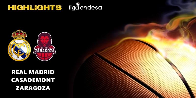 VÍDEO | Highlights | Real Madrid vs Casademont Zaragoza | Liga Endesa | Jornada 23