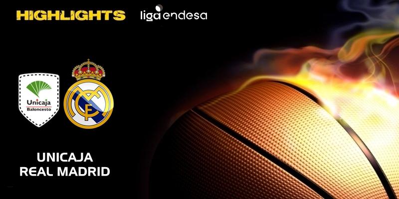 VÍDEO | Highlights | Unicaja vs Real Madrid | Liga Endesa | Jornada 22