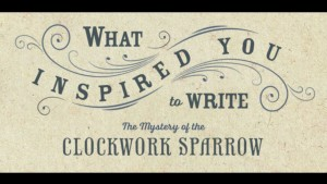 1.) What Inspired you to write MOCWS