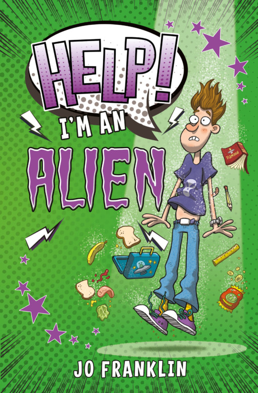 Help I'm an Alien cover
