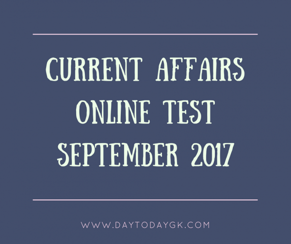 current affairs online test