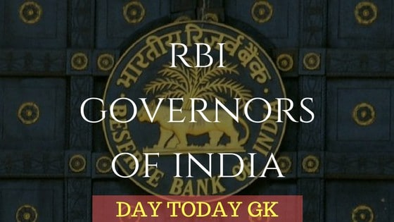 RBI Governors of India