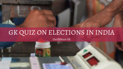 GK Quiz on Elections in India