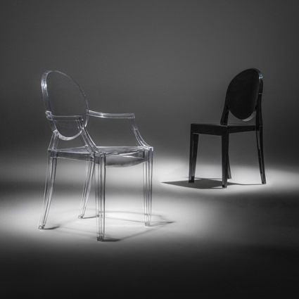 Ghost Chairs (Spotlight) - AC Party Rentals