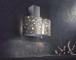 Murano collection the kitchen range hoods by Futuro Futuro Moonlight