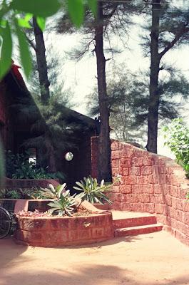 Shirish Beri's house seaside retreat at Devgad