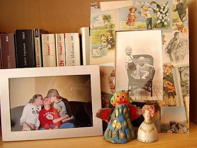 a few cherished corners of a designer Nicola's home