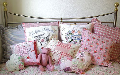 pillows, quilts and toys designed by Nicola
