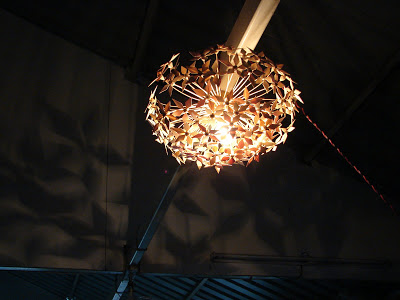 Bamboo lamp - Mann-made design