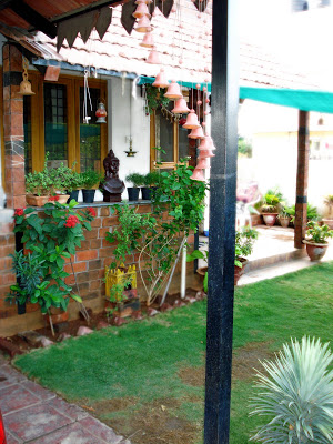 the lush green garden to enjoy a cup of coffee or a leisurely stroll