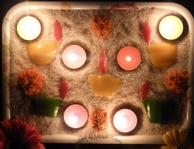 Inspired by Smita's Diwali post on Little Food Junction