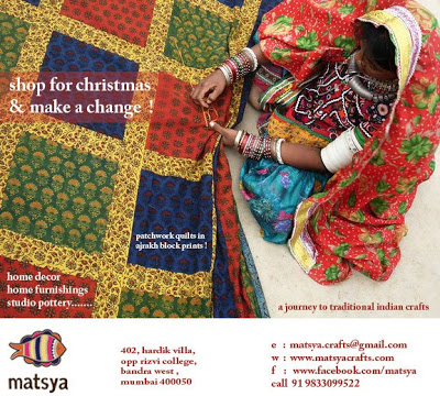 shop for Christmas from Matsya a traditional Indian art and crafts