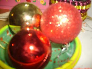 Christmas tree decoration - balls