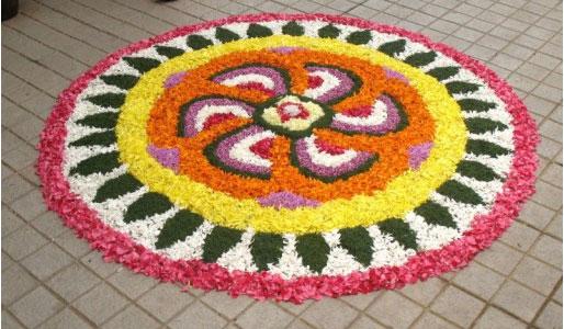 new idea of Pookalam ideas