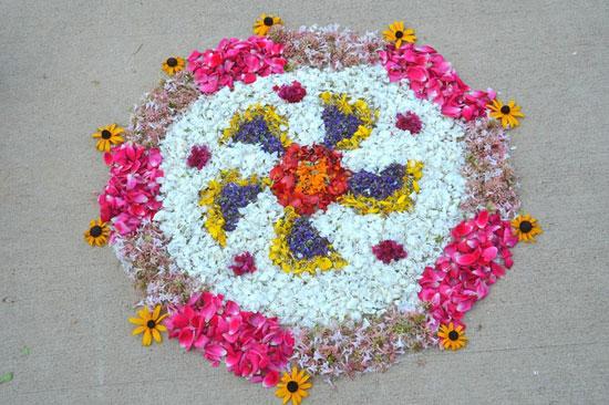 design of pookalam