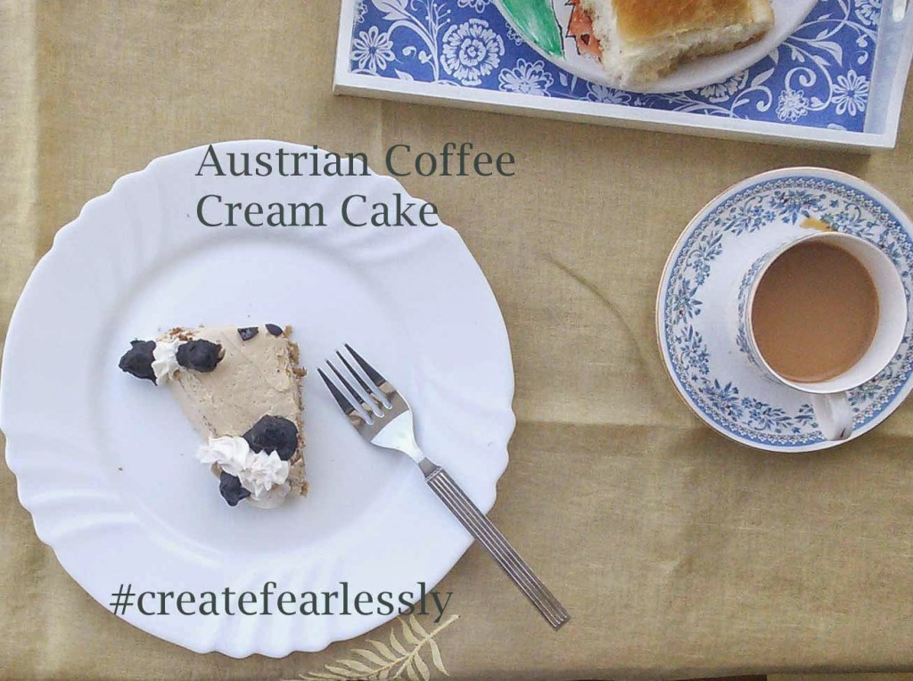 Austrian Coffee Cream Cake