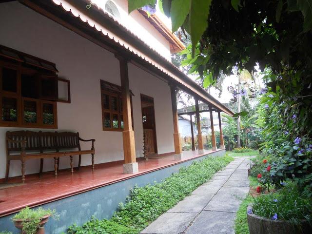 wrap around verandah, garden