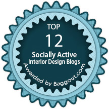 Top 12 Interior Design socially active blogs Badges