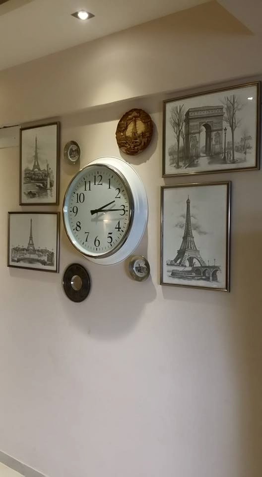 vignette on a wall