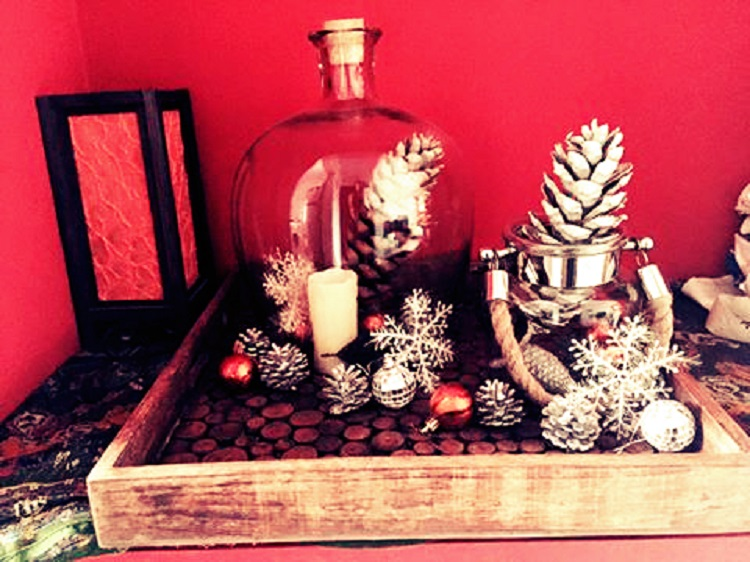 A holiday vignette by Nehaa Bajaj, a decor enthusiast