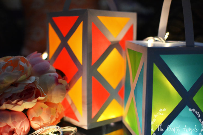 DIY lantern tutorial on The Keybunch by Aakash Kandil