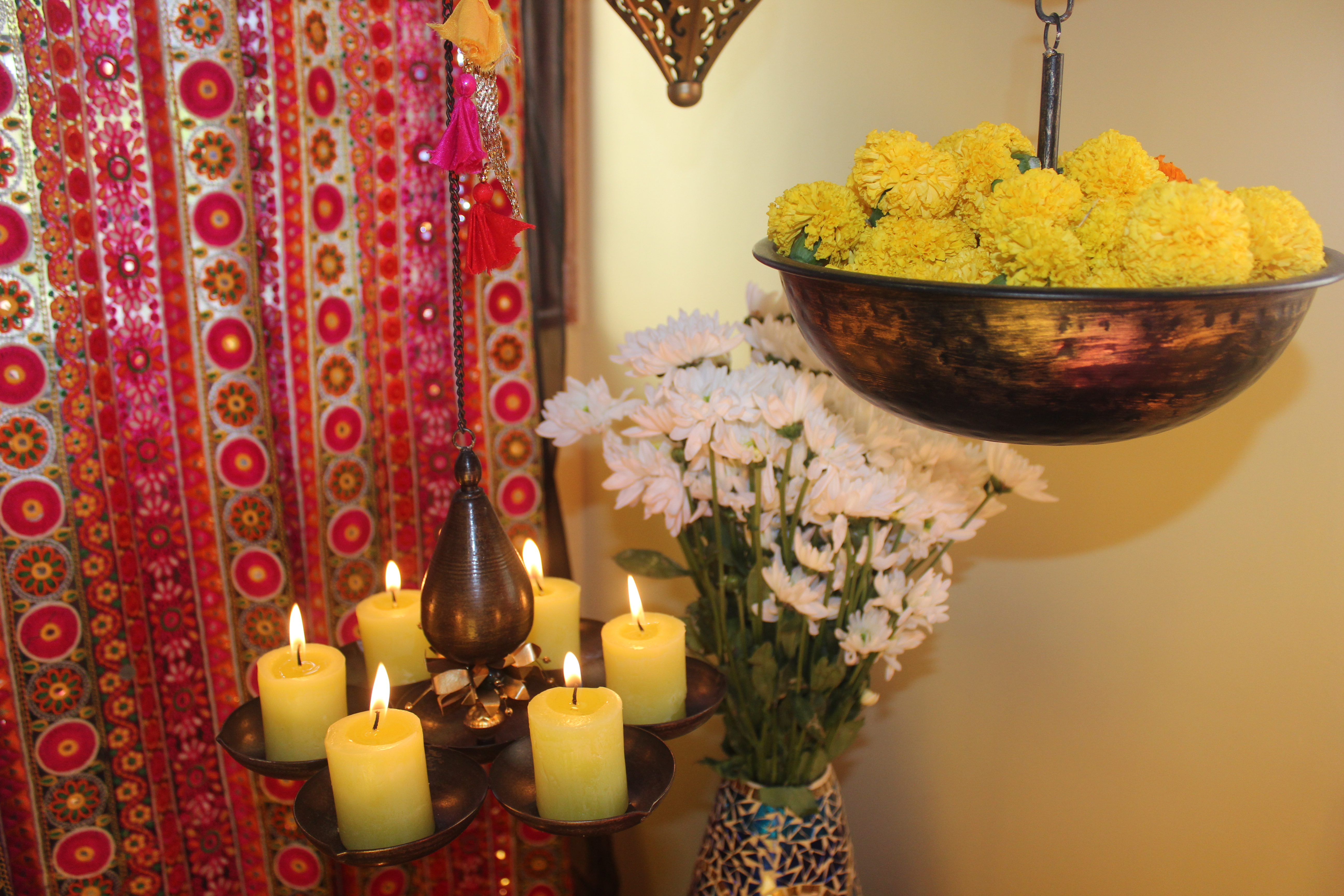 Color and Melodrama Mix Magically at Bembem's Pune Home