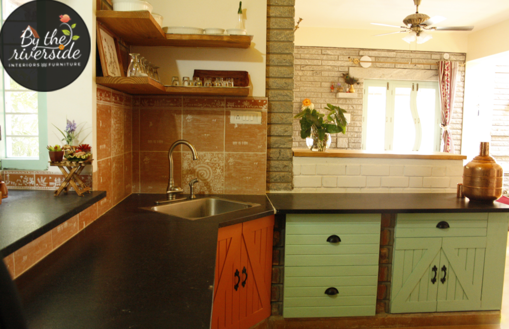Muratara Kitchen - handmade backsplash tiles