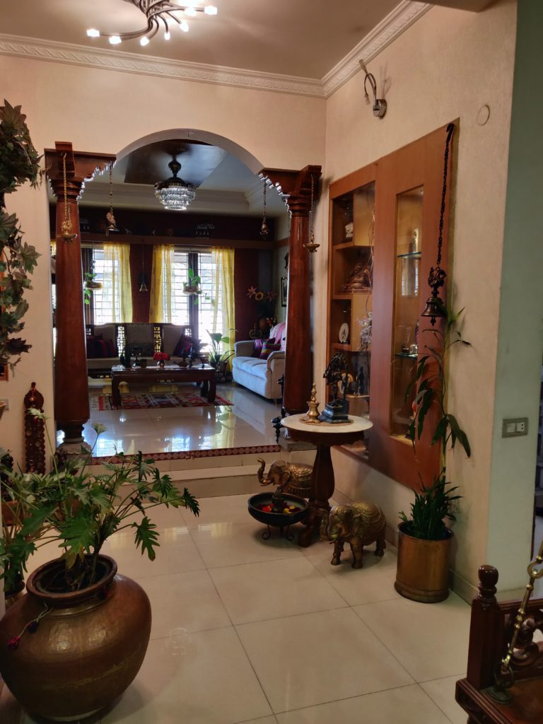 The global desi, green home of Shobha and Ramesh in Bengaluru