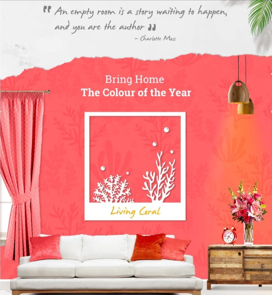 Living Coral is the Pantone Color of the Year 2019