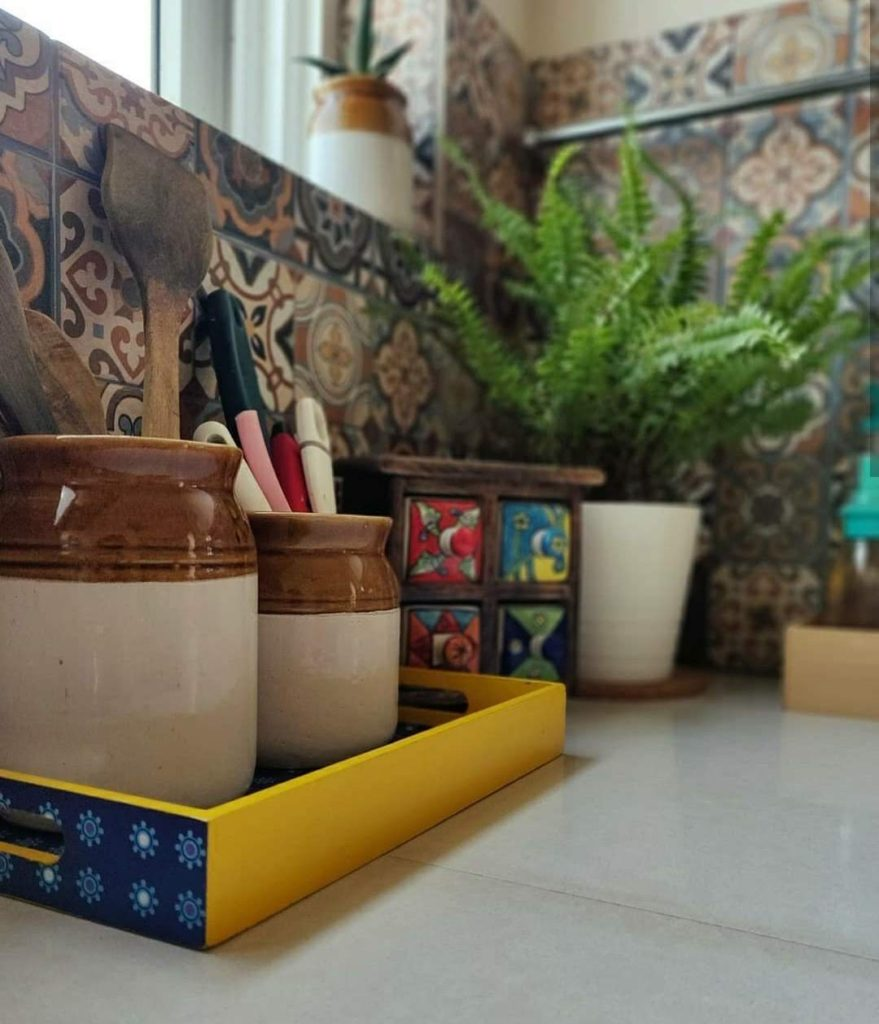 Home style Tour with Rajni in Hyderabad: a glimpse at the kitchen corner