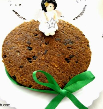 How to make Christmas Fruit Cake