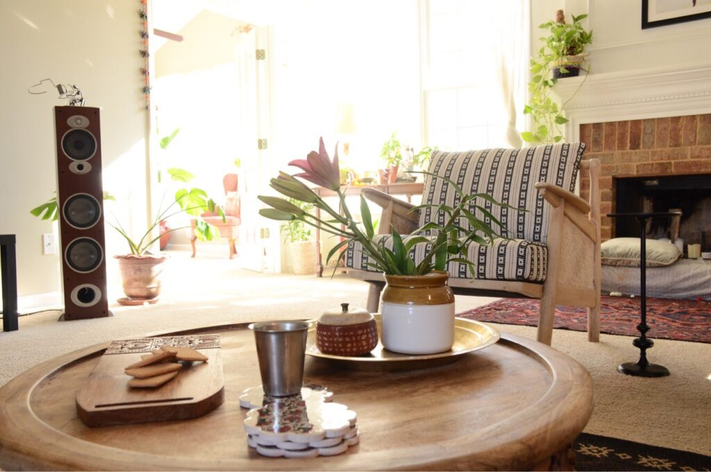neutrals, pops of colour, indian touches and plants|decor goals 2020 for india