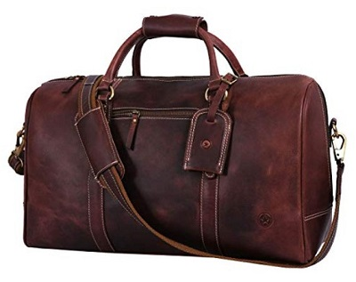 budget James Bond style leather bag