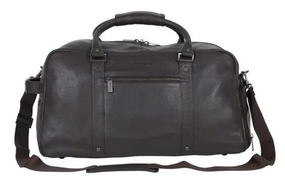 budget James Bond SPECTRE style leather duffle bag