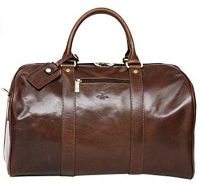 affordable James Bond leather bag
