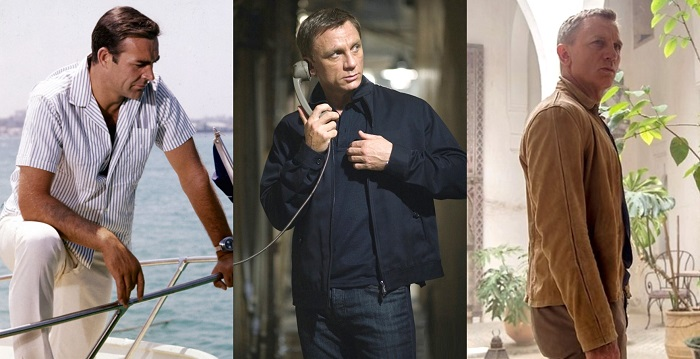 how to dress like James Bond using colors