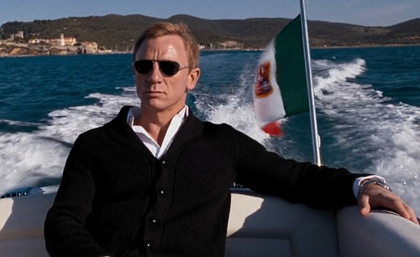 Daniel Craig James Bond Quantum of Solace cardigan