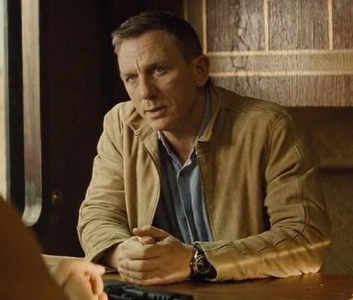 Daniel Craig SPECTRE Matchless suede jacket
