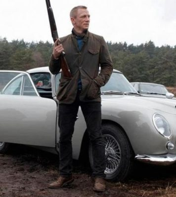 James Bond Skyfall Barbour