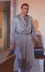 james bond dressing gowns