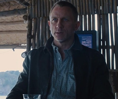 James Bond Skyfall Enjoying Death